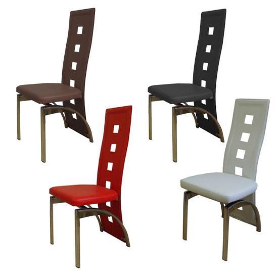 2x Designer Dining Chairs HomeHighlightcouk
