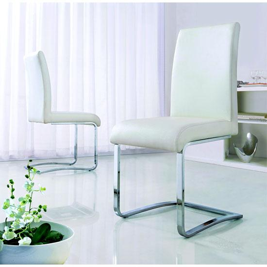 Cheap Leather Dining Chair @ HomeHighlight.co.uk