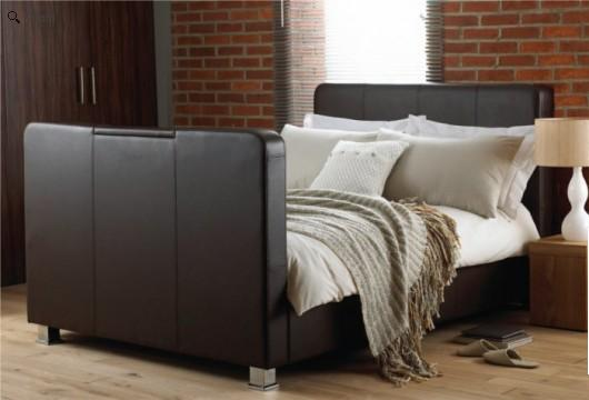 Cheap Leather Tv Bed Homehighlight Co Uk