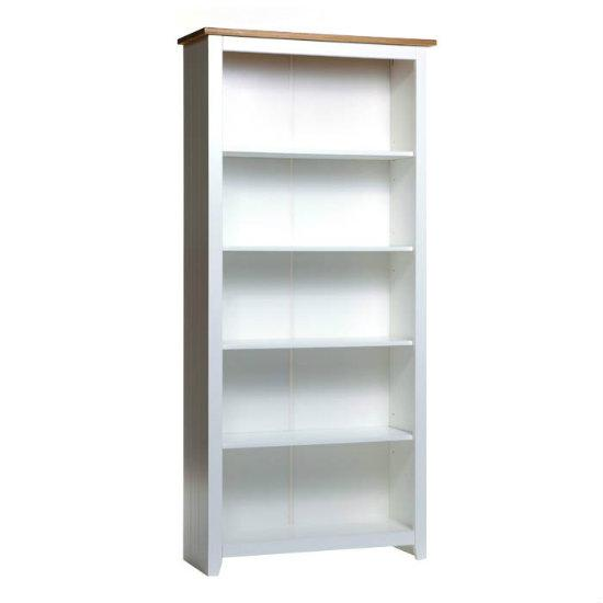 White Wood Bookcase ~ White wooden bookcase homehighlight