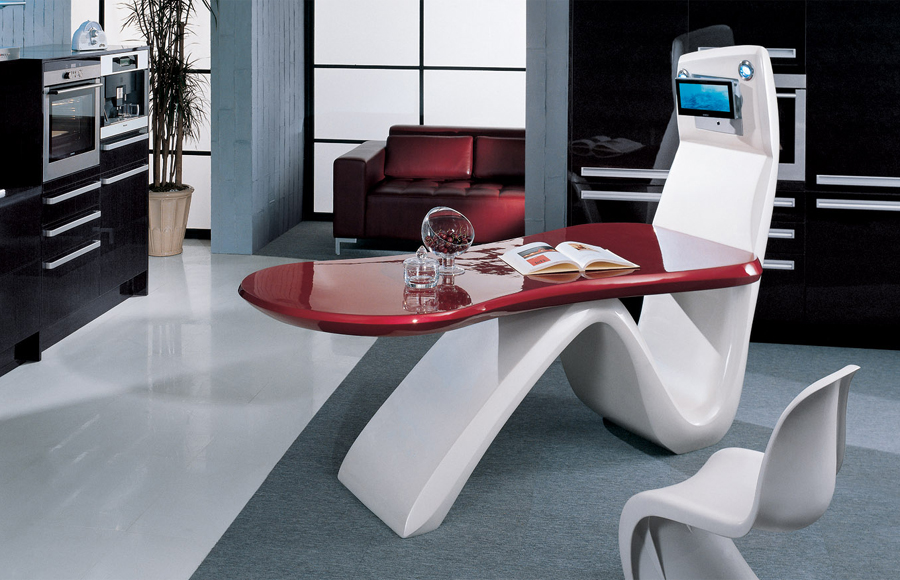 The Kitchen Of The Future Past Amp Present 171 Home Highlight
