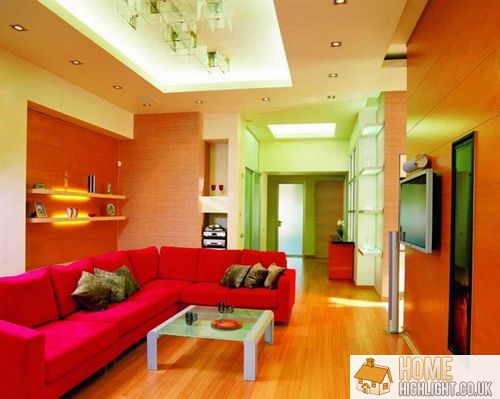 28 Cool amp Colourful Living Room Design Photos Home Highlight