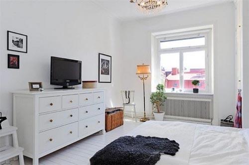 15 Beautiful White Bedroom Design Ideas & Inspirations ...