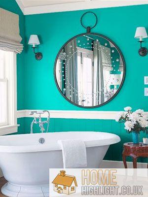 Modern Blue Bathroom Designs Ideas Home Highlight