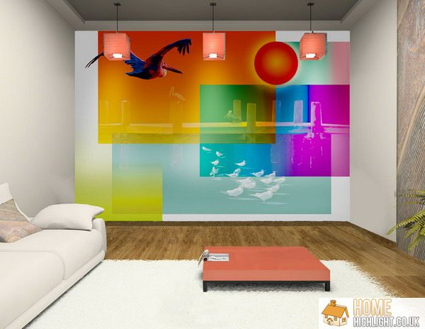 28 Cool & Colourful Living Room Design Photos « Home Highlight