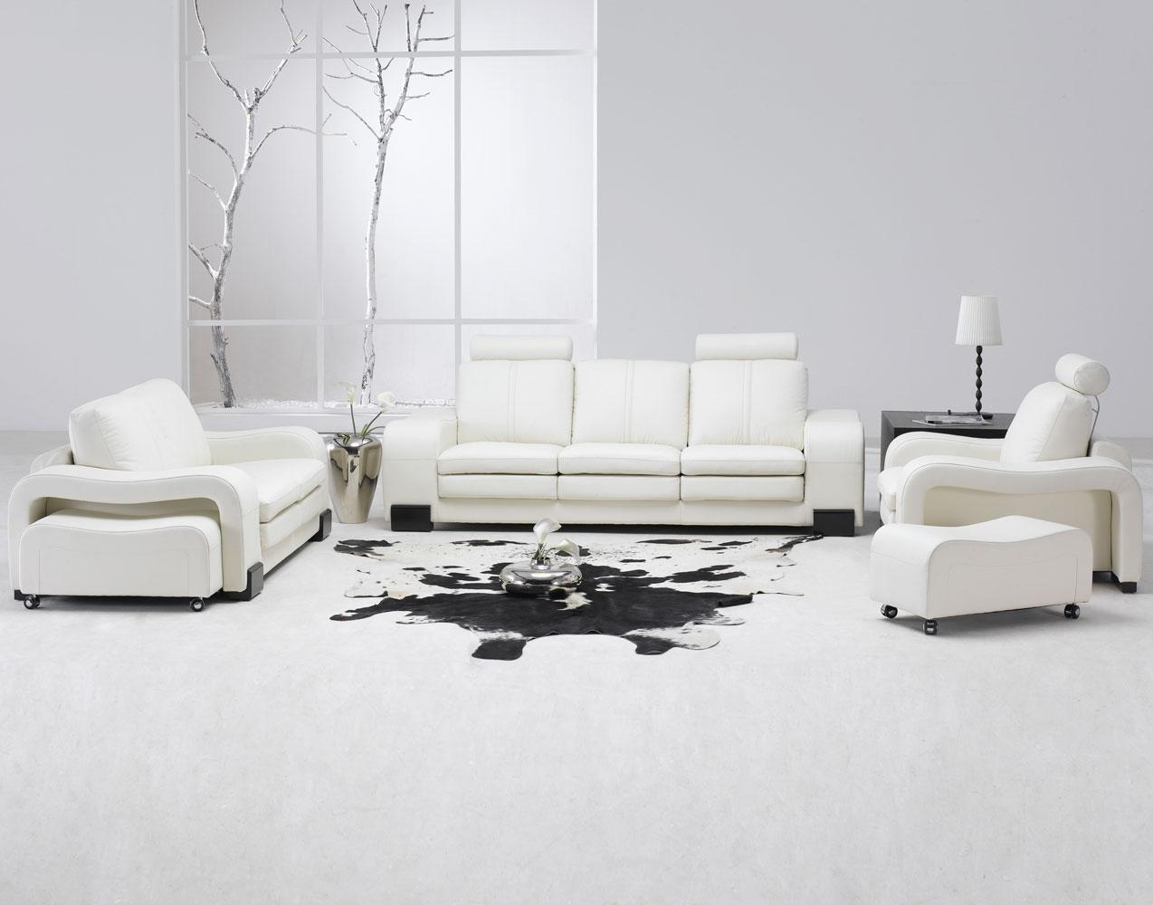 26 modern style living rooms ideas in pictures home Modern white furniture for living room